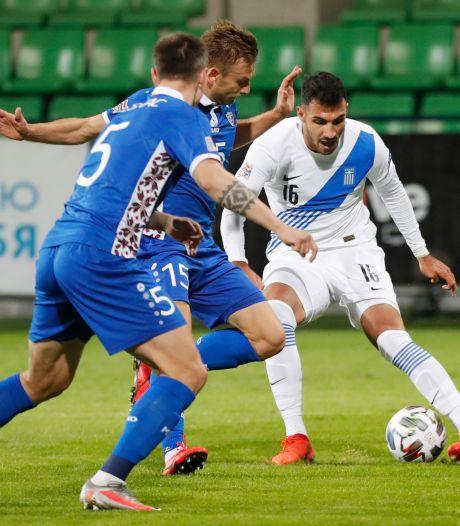 Grieken hebben eredivisie-spitsen niet nodig voor goals tegen Moldavië