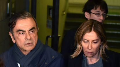 """Vrouw van ex-topman Renault vraagt Trump om hulp: """"Mijn echtgenoot is onschuldig"""""""