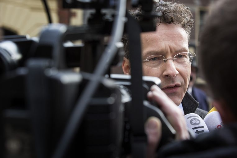 Minister Dijsselbloem Beeld anp