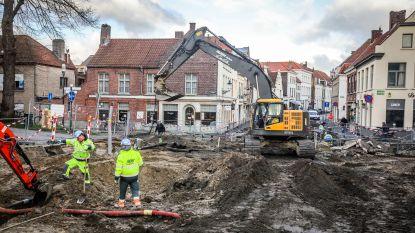 De héle binnenstad lijkt open te liggen: hier vind je een handig overzicht van de werken in Brugge