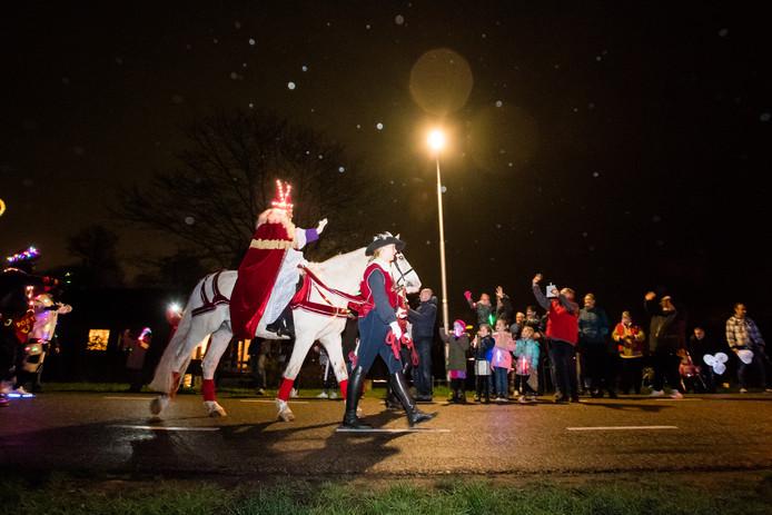 Afscheid van Sinterklaas in Driel