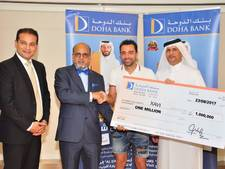 Miljonair Xavi wint 'loterij' bij bank in Qatar