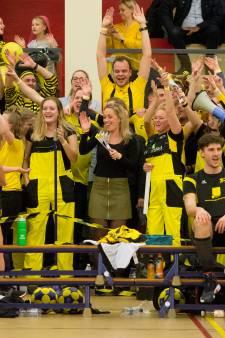 Korfballers van Tempo spelen derde wedstrijd in halve finale