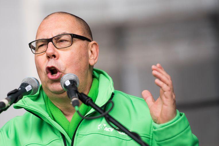 ACV-voorzitter Marc Leemans.