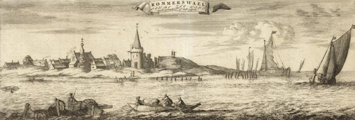 Reimerswaal was een gedoemde stad.