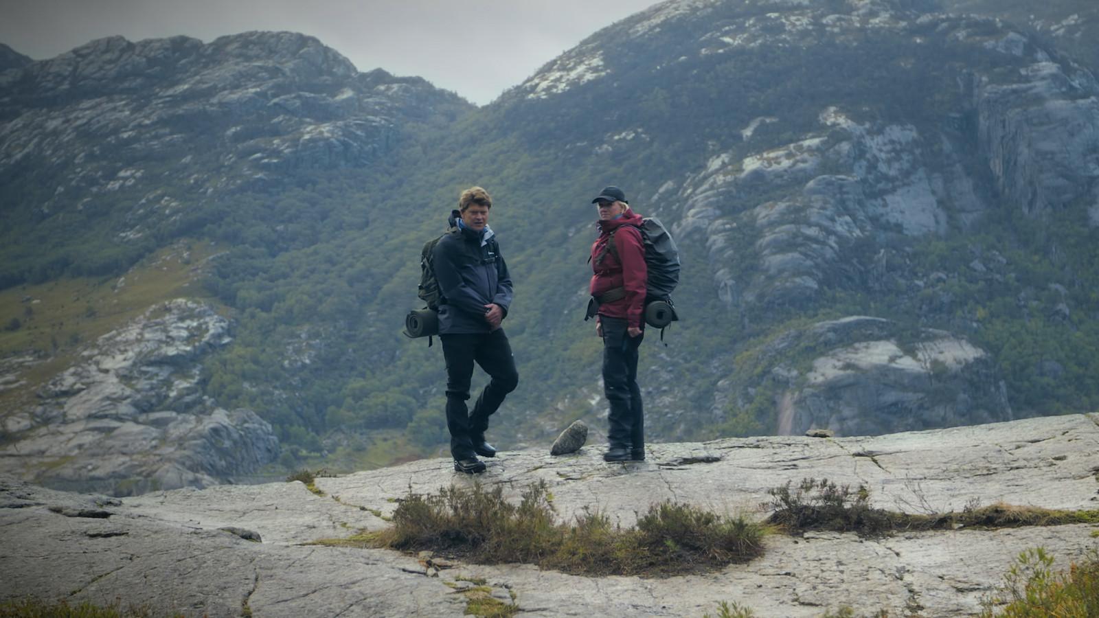 Een beeld uit het tv-programma 'Beau en de Veteranen'.