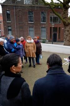 Holocaustmonument 'Levenslicht' onthuld in Grote Toren in Gorinchem