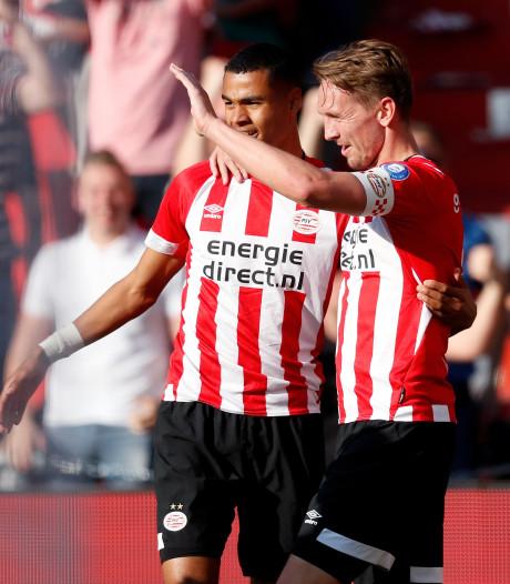 PSV blijft met zege op ADO in het spoor van Ajax