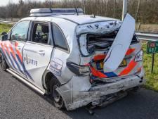 Ramptoeristen filmen al rijdend ongeluk A16 waarbij agenten door oog van naald kropen