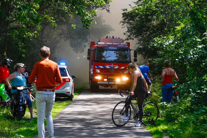 Brand bij Baetsen.