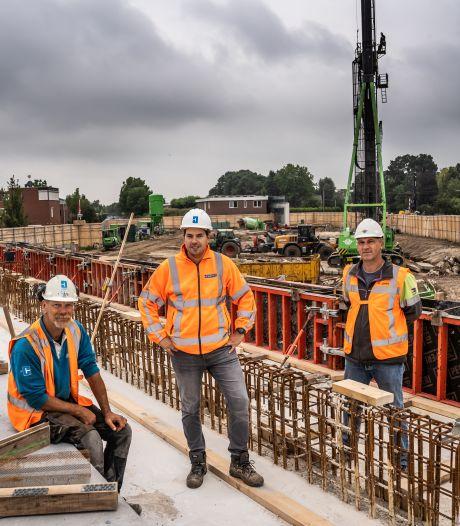 Het megaproject tussen Arnhem en Elst: deze mannen bouwen mee aan de Grifttunnel