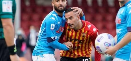 Napoli herpakt zich na nederlaag tegen AZ met zege bij Benevento