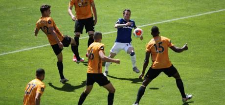 Wolverhampton legt Everton over de knie en heeft EL-ticket in zicht
