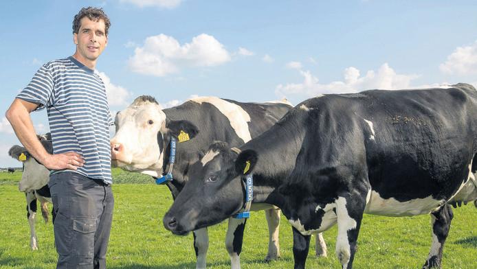 Boer Jan Jaap Jantjes vindt dat het biokeurmerk sterk moet blijven.