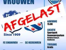 Wedstrijd FC Eindhoven - SC Heerenveen afgelast