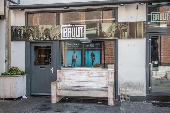 Horecazaak Bruut in de Voorstraat in Zwolle.