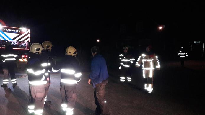 Bij de brand in Someren-Heide kwamen vier koeien om het leven.