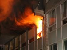 Bewoner uitgebrande flatwoning Voorburg veroorzaakte explosie zelf