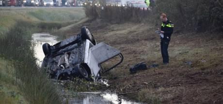 Dode bij ongeval op N36 bij Ommen