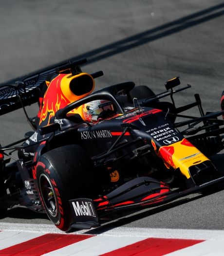 Weer derde plaats voor Verstappen, Hamilton het snelst