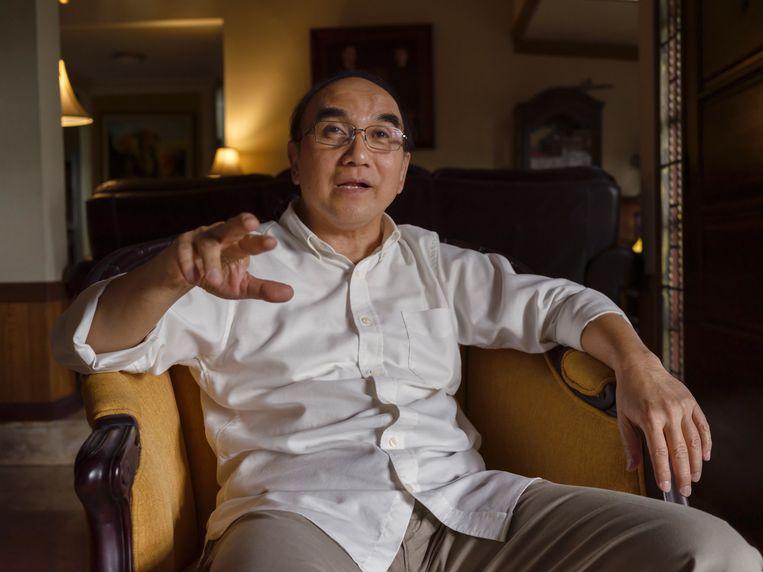 Kleinzoon Ibong Sjahroezah: 'Als ik aan mijn grootvader denk, dan denk ik aan zijn moed en consistentie in zijn antikoloniale opstelling.'  Beeld Suzanne Liem