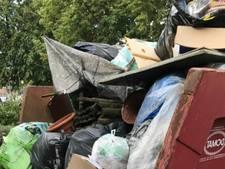 Propvolle afvalcontainers in Waalwijk: lelijk én gevaarlijk