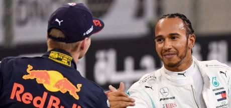 Hamilton over uitspraken Verstappen: 'Dat zie ik vaak als teken van zwakte'