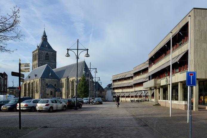 Het gemeentehuis in Oldenzaal