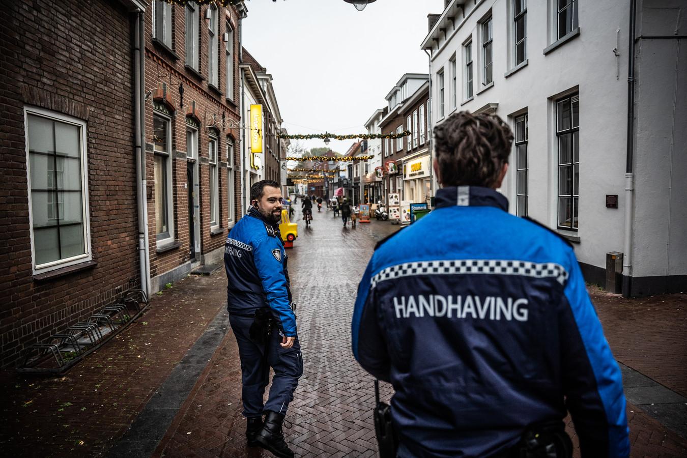 Boa's op pad in Huissen, foto ter illustratie.