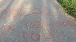 'Ik vermoord jou', bedreigingen op asfalt voor vrouw die het opnam voor verwaarloosde dieren