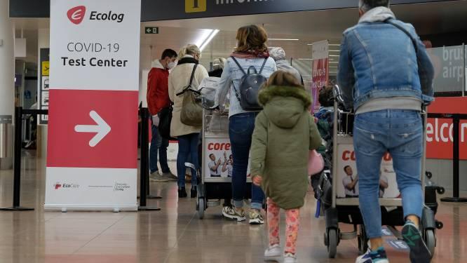 Brussels gewest ziet verband tussen stijgende cijfers en terugkerende reizigers