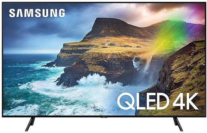 Ook voor de prijsbewuste consument is er een Qled-tv voorhanden.