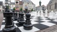 Zomer lang schaken op de Markt