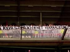 Stadionverbod voor Willem II-fans vanwege gooien met sterretjesvuurwerk