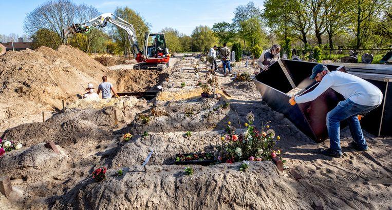 Op dit moment telt Nederland slecht drie begraafplaatsen waar moslims van eeuwige grafrust verzekerd zijn. Beeld Raymond Rutting / de Volkskrant