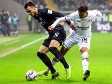 Eintracht Frankfurt wint gevecht met Leverkusen