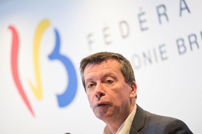 Minister van Begroting Frédéric Daerden (PS)