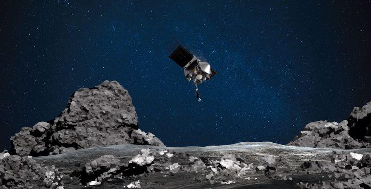 De Nasa-sonde Osiris-Rex Beeld AFP