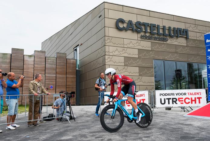 De proloog van de BeNe Ladies Tour 2019 startte vanaf Castellum Hoge Woerd.