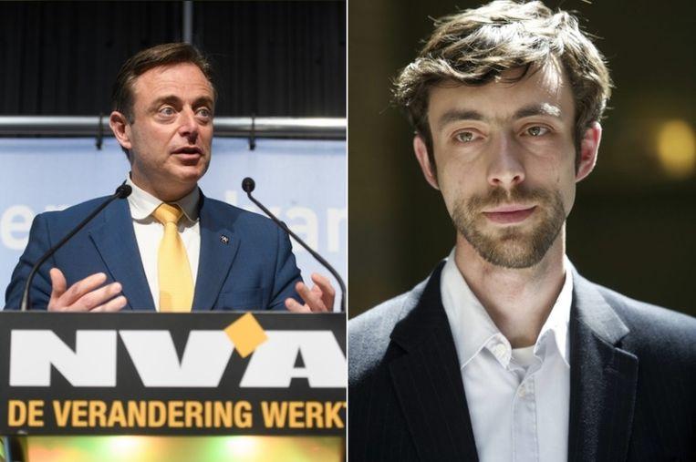 Bart De Wever en Willem-Frederik Schiltz zijn het oneens over de kernuitstap