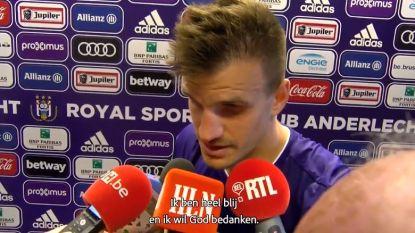 """Santini naar 120 goals? """"Ik zal proberen"""", lacht hij voor onze camera"""