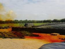 Brandweer rukt uit voor giftig gas uit maiskuil in Klarenbeek
