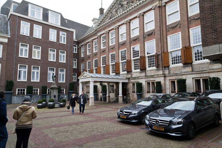 Universiteitsgebouw op de Herengracht Beeld Roï Shiratski