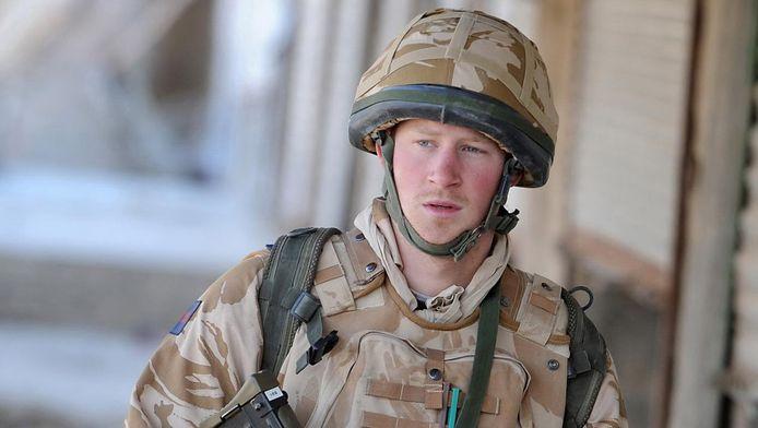 De prins in 2008 in Helmand.