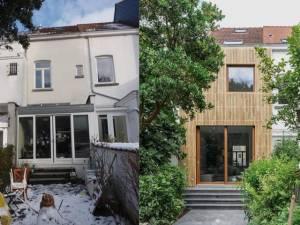 Rénovation impressionnante d'une maison de rangée de 3,9 mètres de largeur