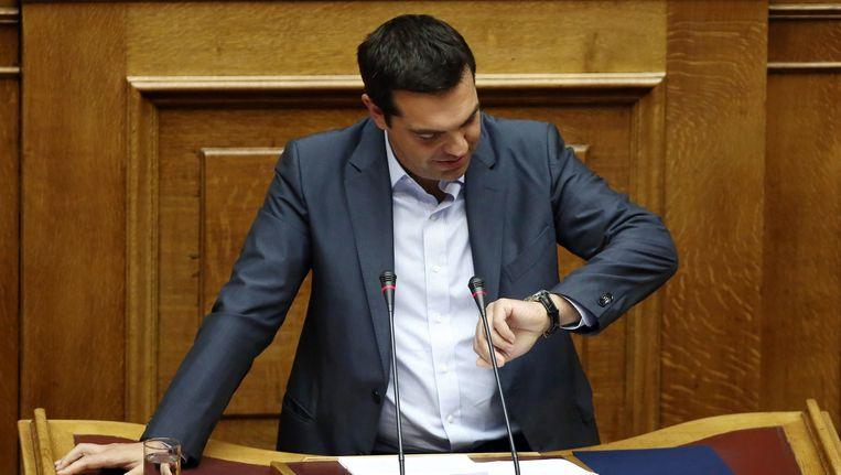 Premiers Tsipras. Beeld afp