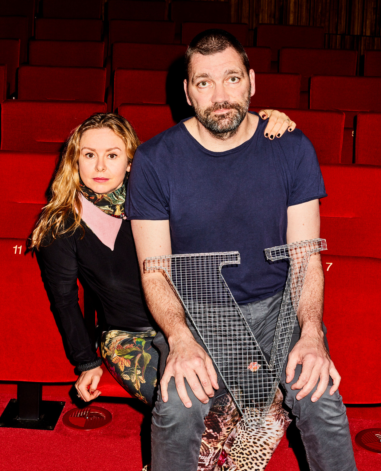 Theo Maassen en Sunny Bergman  Beeld Valentina Vos