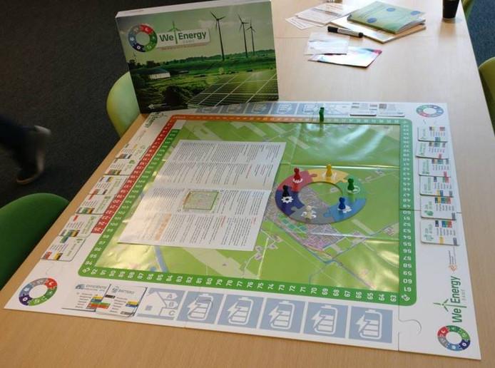 Het bordspel We Energy Game van de Hanzehogeschool Groningen is door de Stichting Platform Duurzaam Hellendoorn aangepast voor lokaal gebruik.