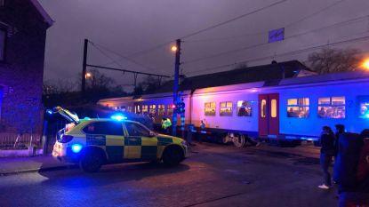 250 treinpassagiers geëvacueerd na ongeval