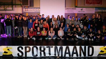 Bonheiden viert sportkampioenen